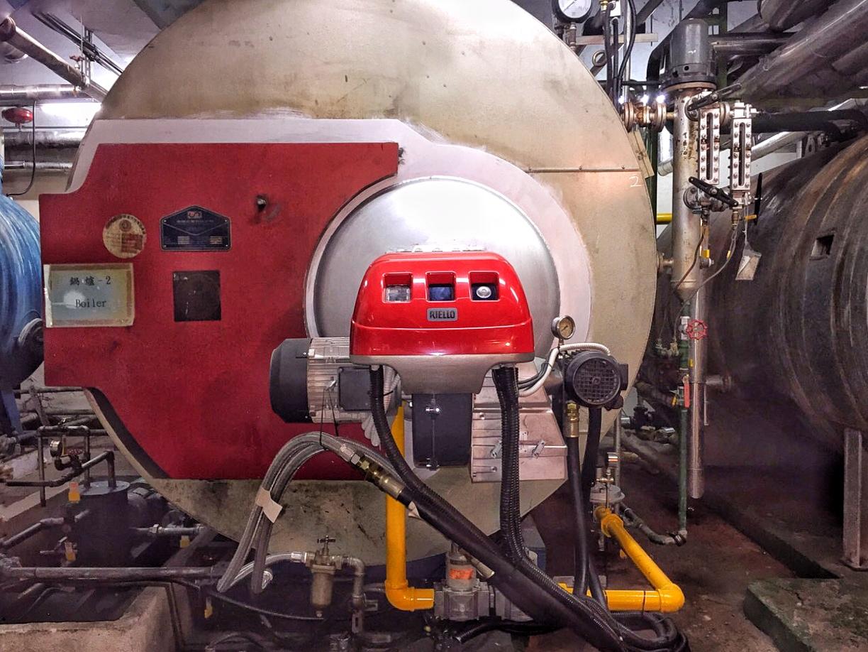 醫院-蒸氣鍋爐-節能績效保障專案工程-二號爐