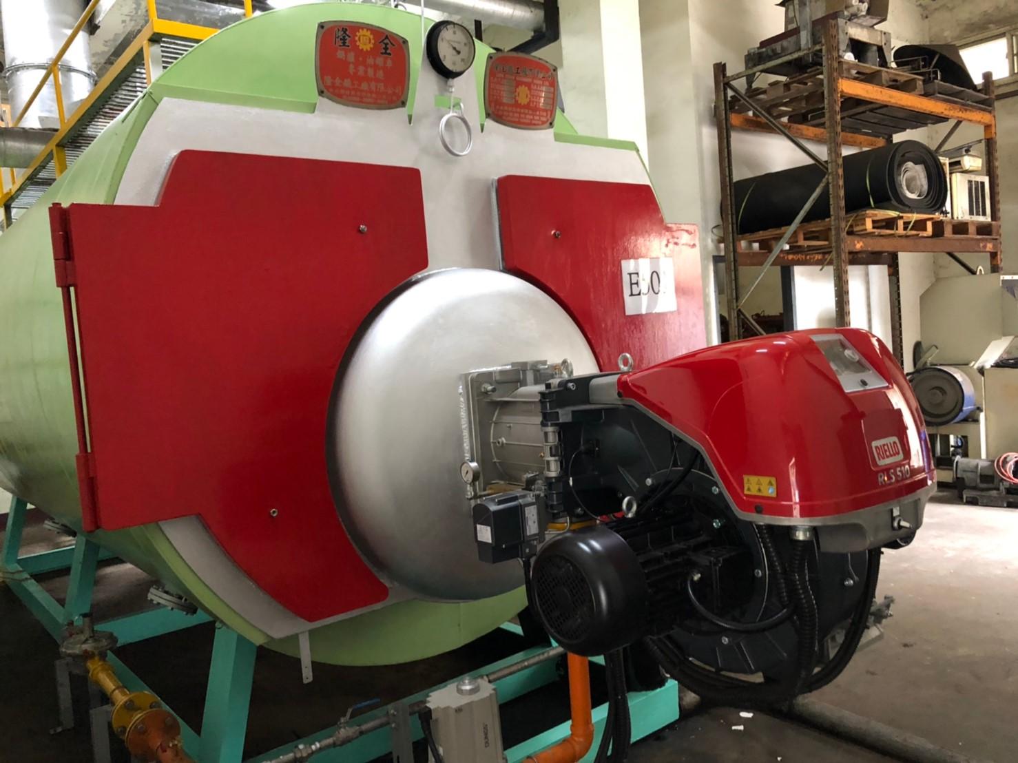 柴油瓦斯雙用燃料型燃燒機-RLS510/M-機械比例式