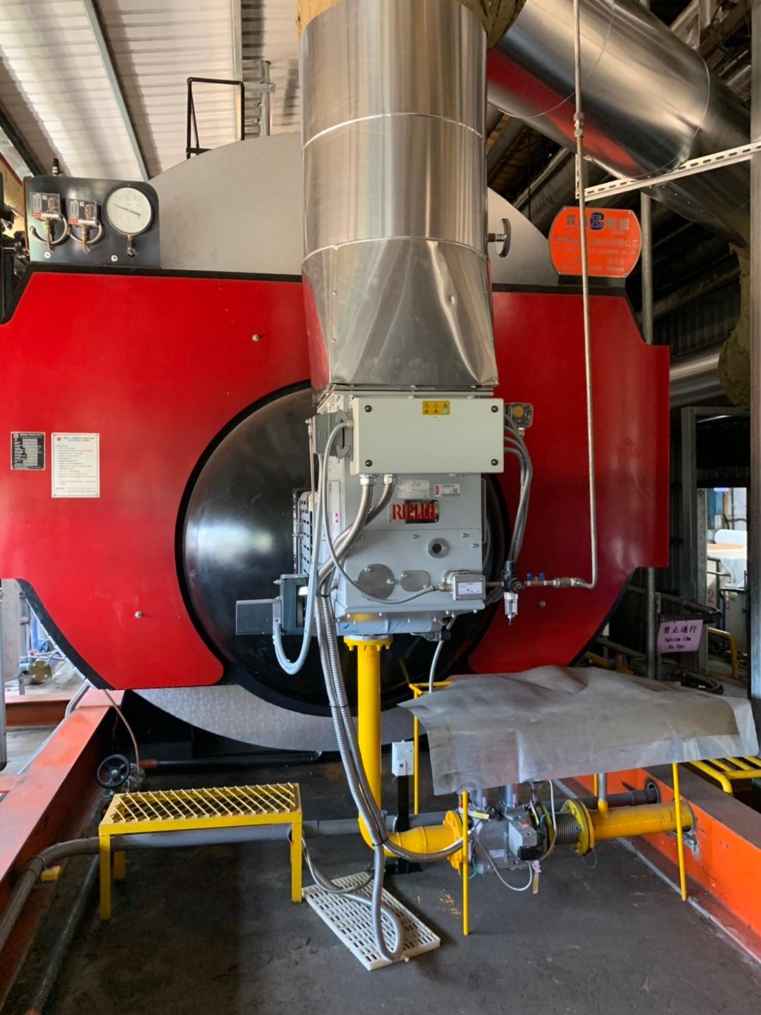 DB 12 SM T250熱回收型瓦斯燃燒機應用