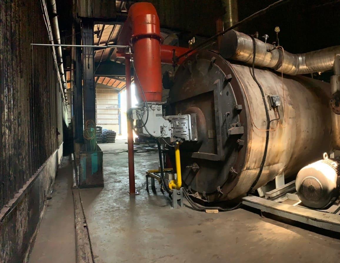 DB 6 SM 熱回收瓦斯燃燒機應用