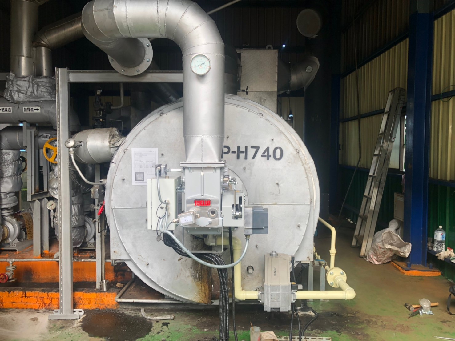 DB 2 SM 熱回收瓦斯燃燒機應用