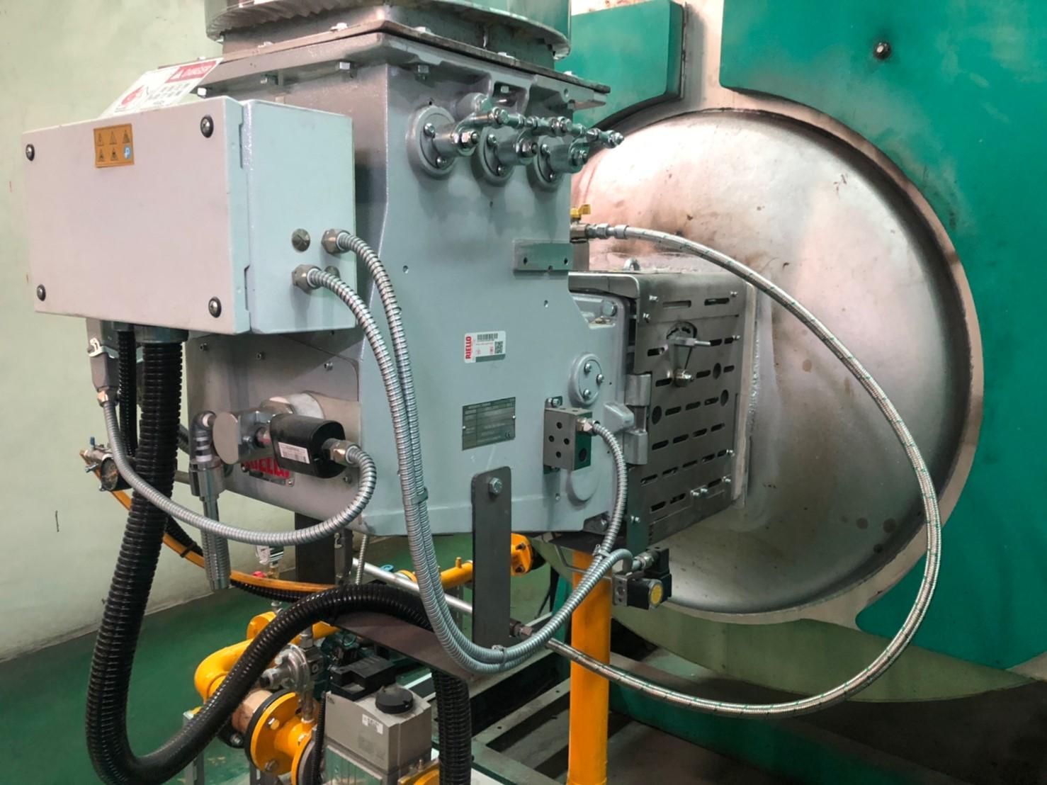 DB 3 SE 熱回收電子式瓦斯燃燒機應用
