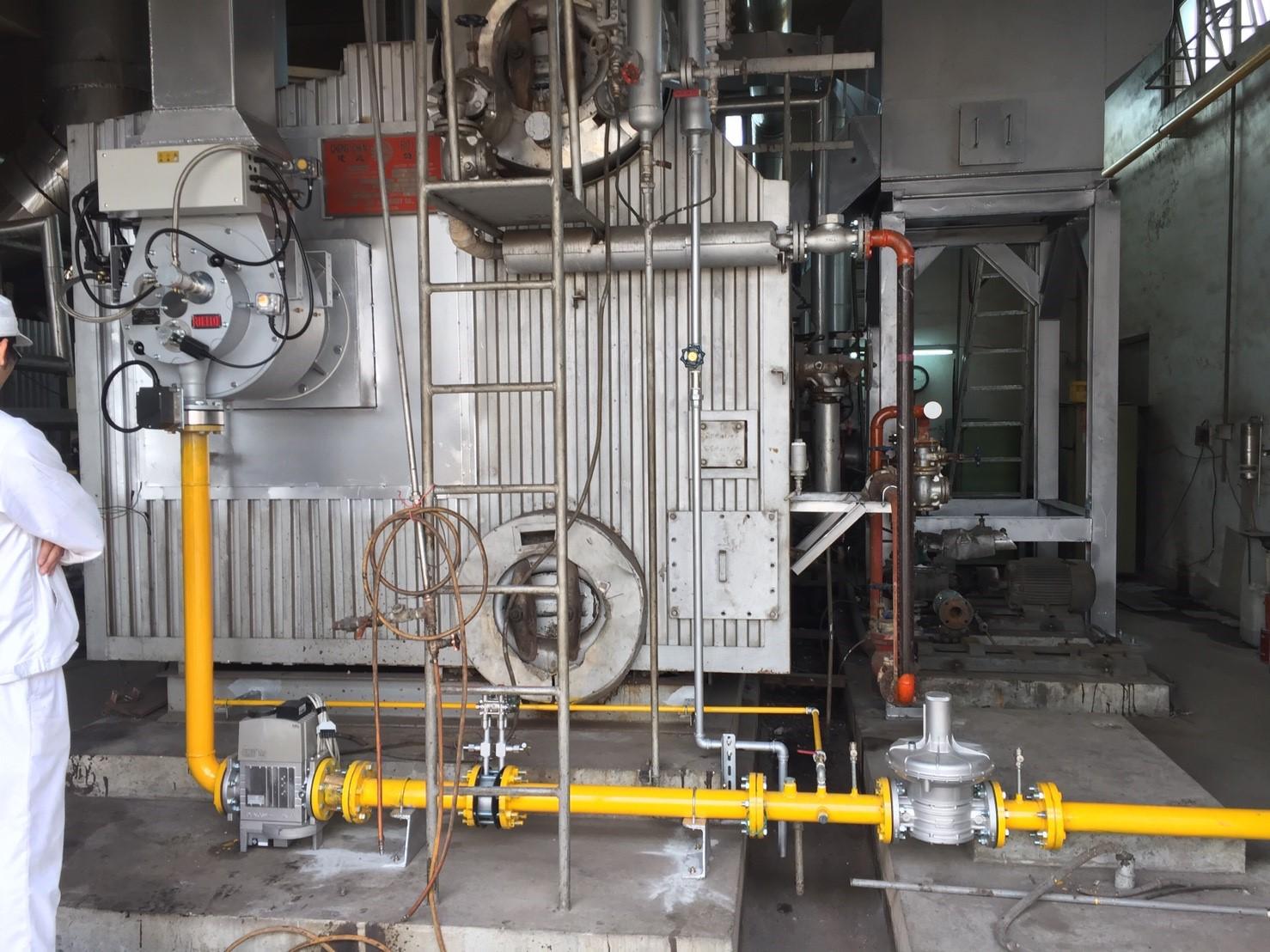 ER 9 SE 熱回收電子式瓦斯燃燒機應用